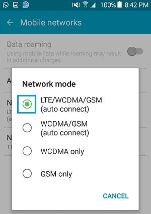 Fix LG W30 Mobile Data Not Working (Problem Solved)