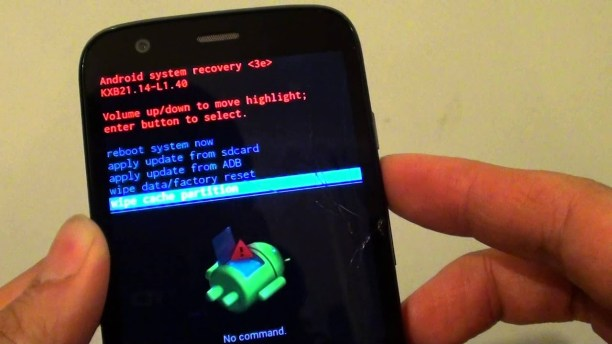 Fix Motorola Vision One Mobile Data Not Working