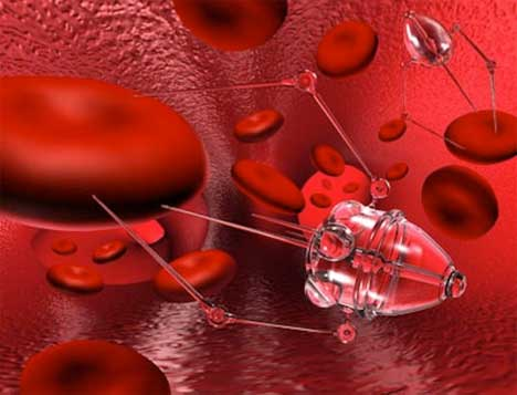 nano bots attack cancer cells