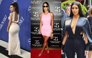 The best looks of Kim Kardashian