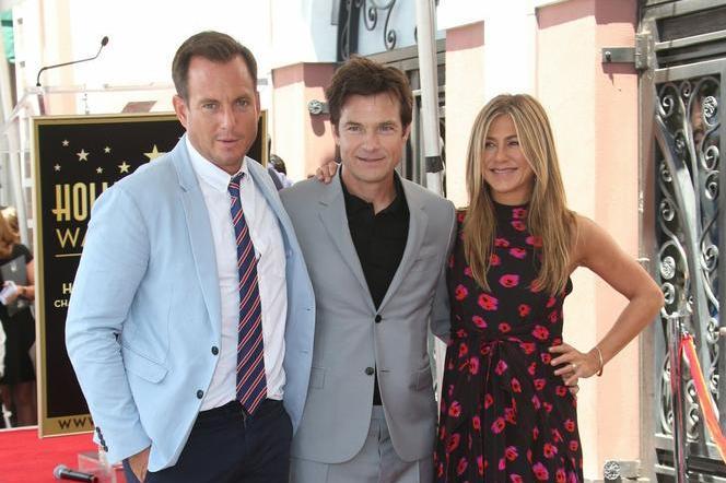 Will Arnett, Jason Bateman, and Jennifer Aniston