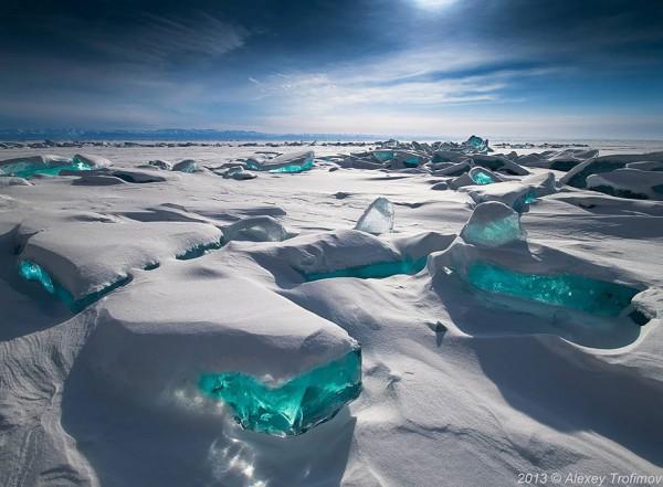 #5 Emerald Ice On Baikal Lake, Russia