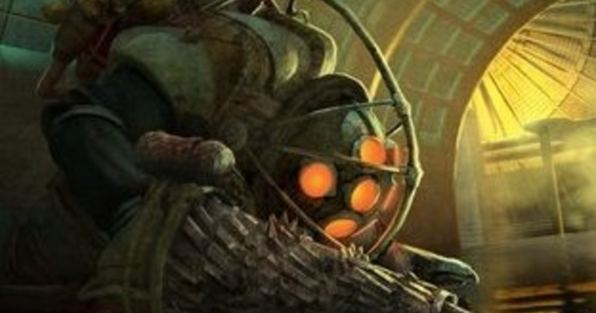 Concept Art Sheds New Light On Canned BioShock Film