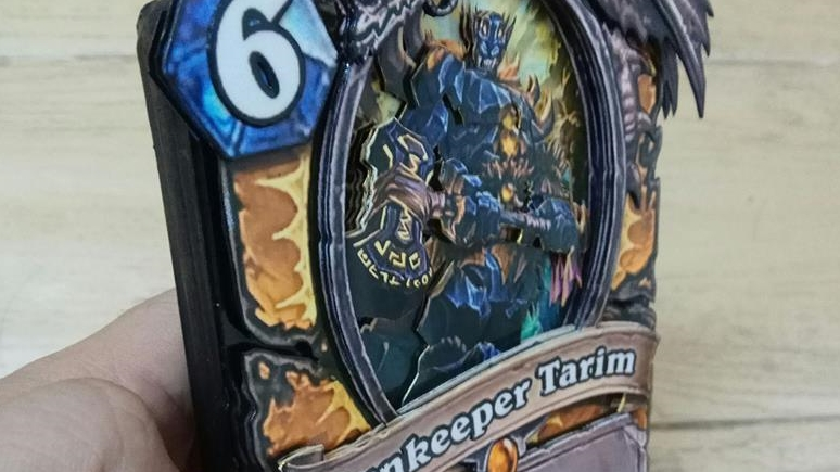 Check Out These Incredible Real Life Hearthstone Cards Metabomb