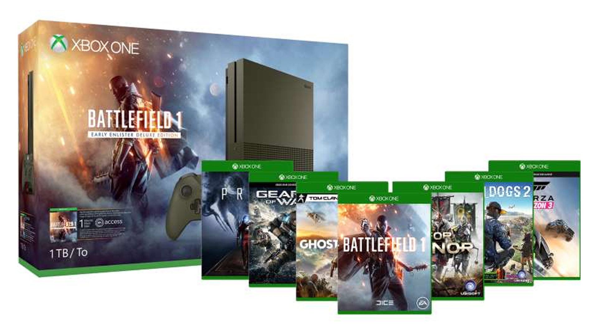 Pick up a massive Xbox One S bundle with three games  all for  300     This will be one of those  get it while you can  type offers