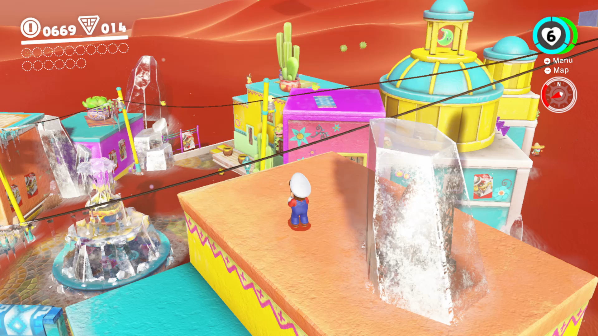 Image result for Mario Odyssey sand kingdom 1920x1080