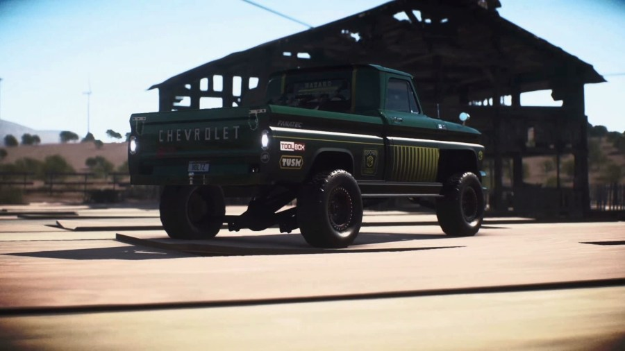 Need for Speed Payback Chevrolet C10 Stepside Pickup 1965 Derelict     How to get the Chevrolet C10 Stepside Pickup 1965 Derelict Car in Need for  Speed Payback