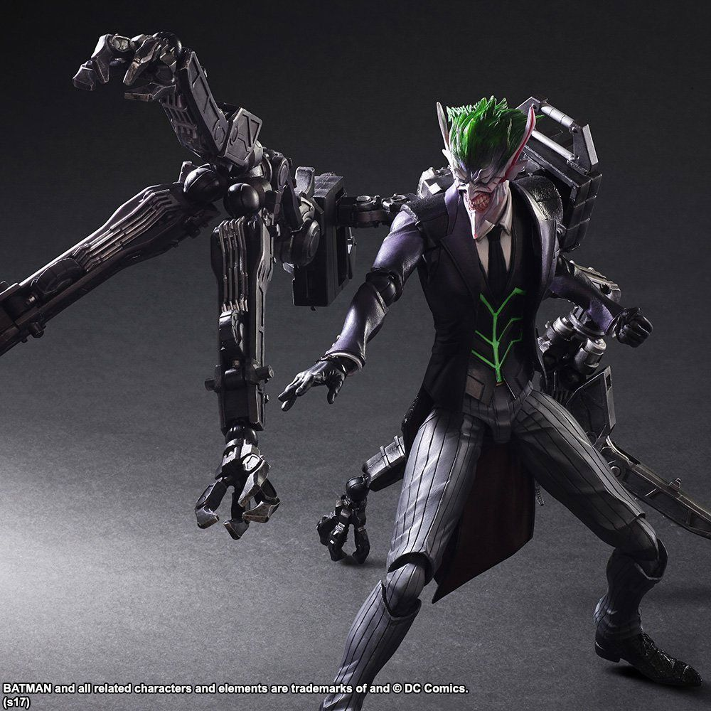 Heres The Joker Action Figure From Tetsuya Nomura You