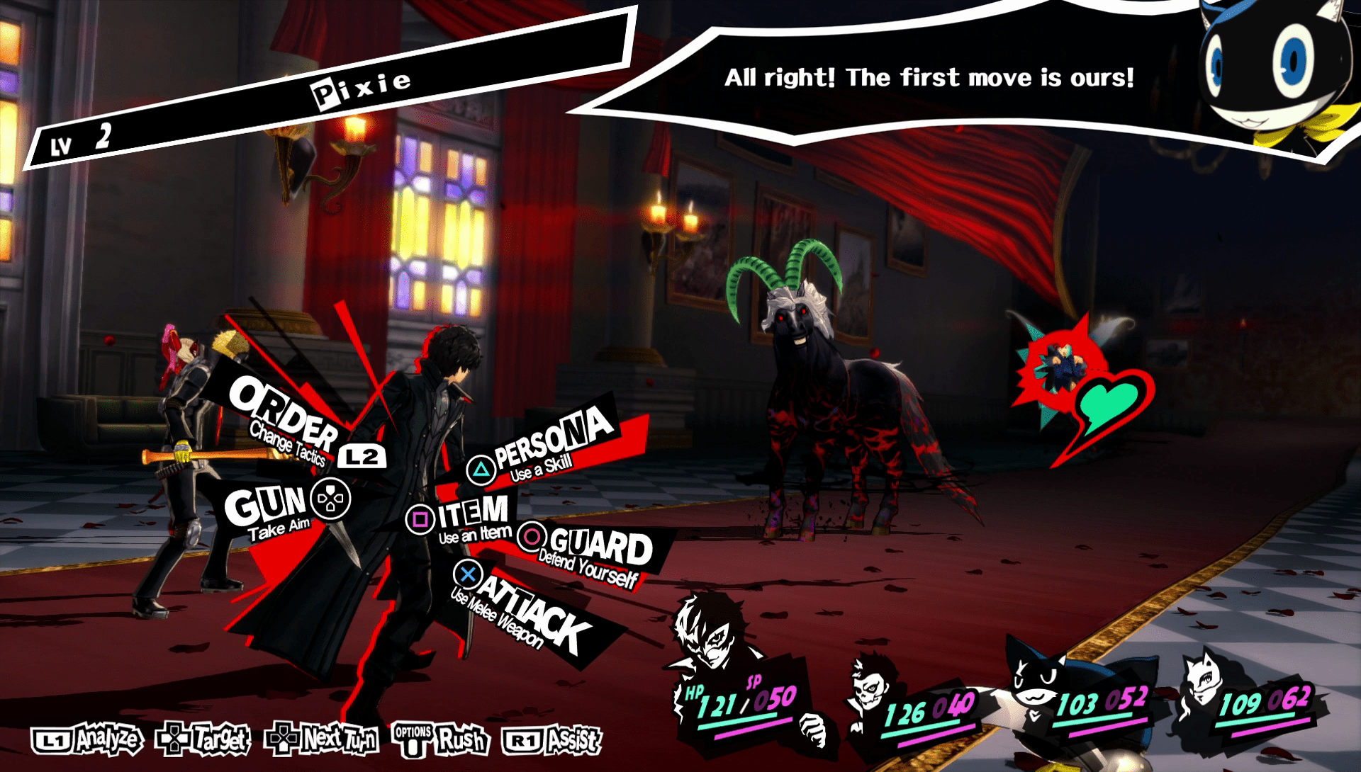 Image result for persona 5 gun