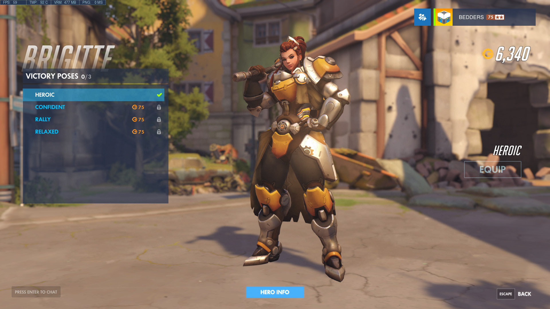 Overwatch Brigitte Skins Highlight Intros Victory Poses