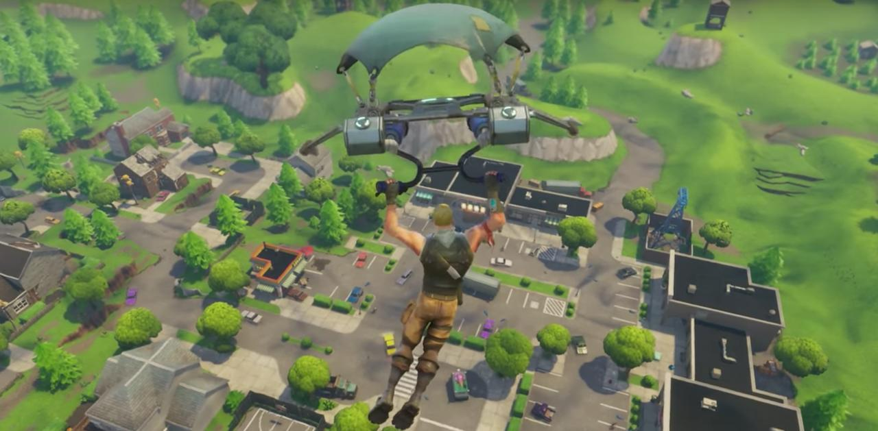 Fortnite Battle Royale Chest Map Loot Map PC PS4 Xbox One Metabomb