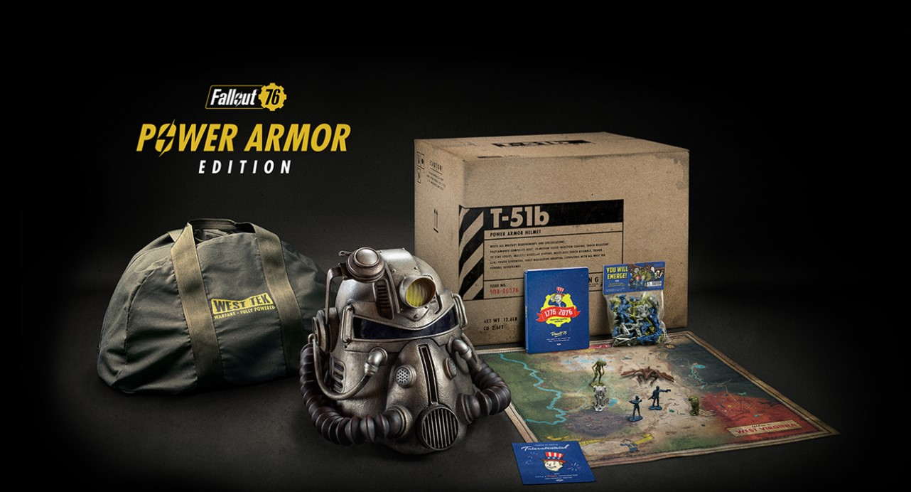 Fallout 76 Power Armor Whats In The Fallout 76 Power
