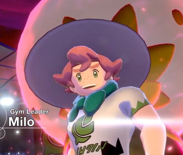 Milo The Grass Type Gym Leader Nintendo