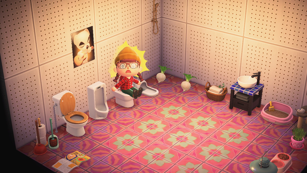 Animal Crossing Bathroom Design Ideas on Animal Crossing Room Ideas New Horizons  id=20341