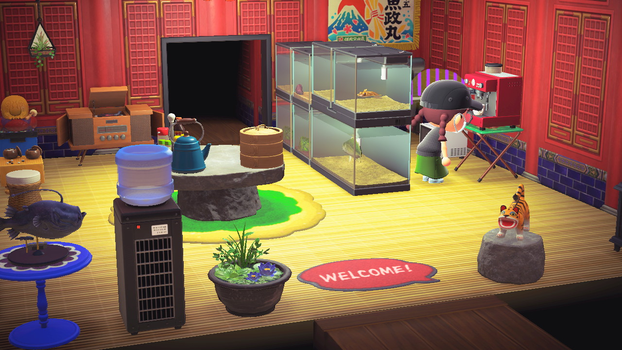 Animal Crossing: New Horizons Review: The Only Debt You'll ... on Animal Crossing New Horizons Living Room  id=33274