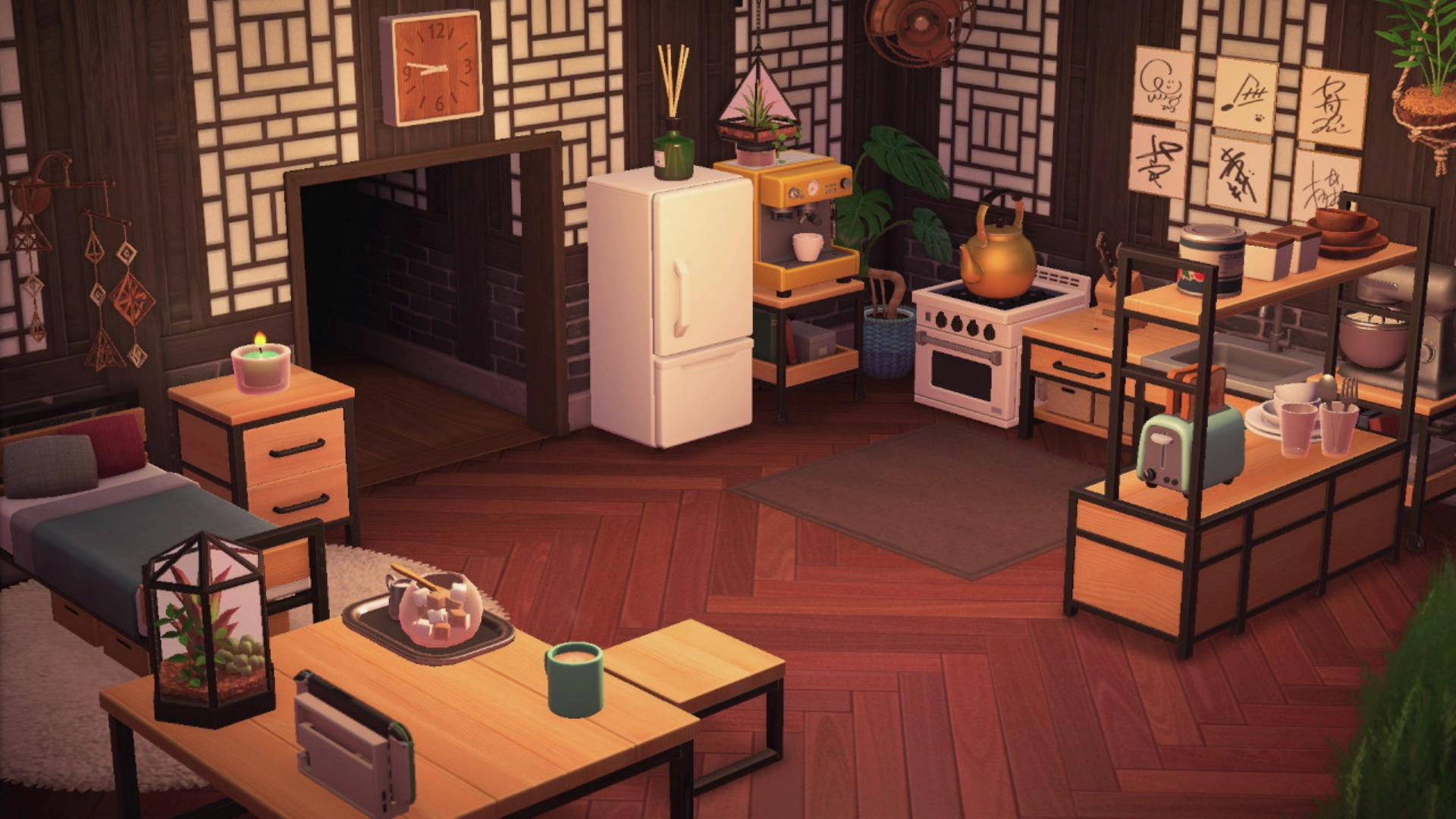 Ironwood Furniture Recipes in Animal Crossing New Horizons on Ironwood Kitchen Animal Crossing  id=57234