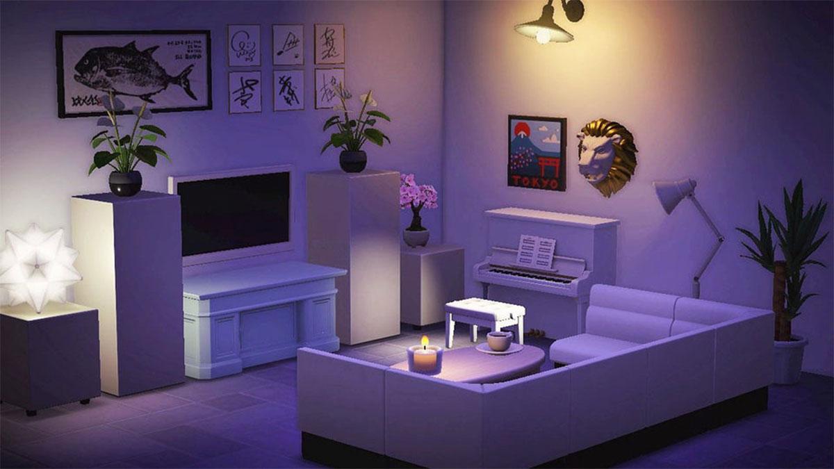 Animal Crossing New Horizons Living Room Designs - Gamer ... on Animal Crossing New Horizons Living Room Ideas  id=57248