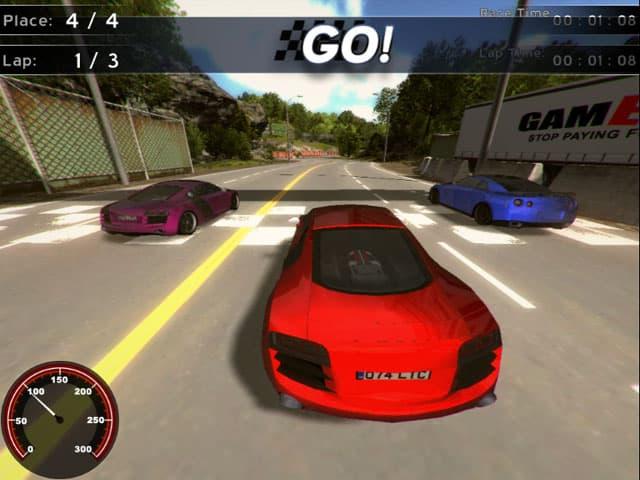 Supercars Racing Free PC Game Screenshot
