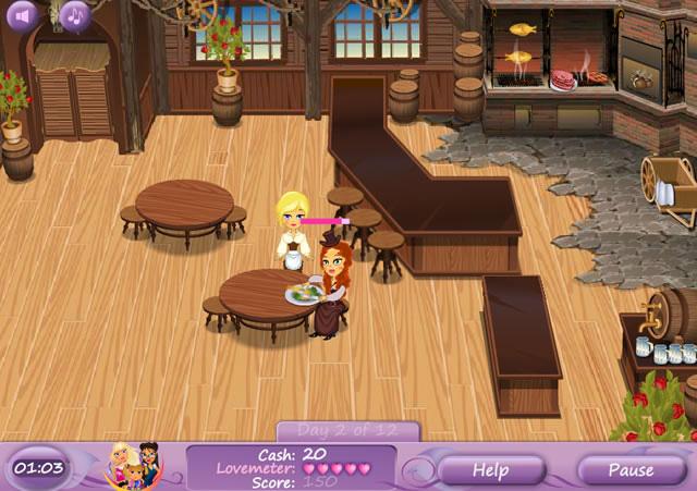 Games Restaurant Jennifer Rose