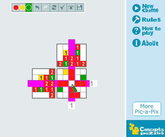 Pic-a-Pix - Mind games - GamingCloud