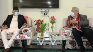 मुख्यमन्त्री पोखरेल– विश्व बैंक नेपाल निर्देशक भेट, ठूला आयोजनामा सहयोग गर्न मुख्यमन्त्रीको आग्रह