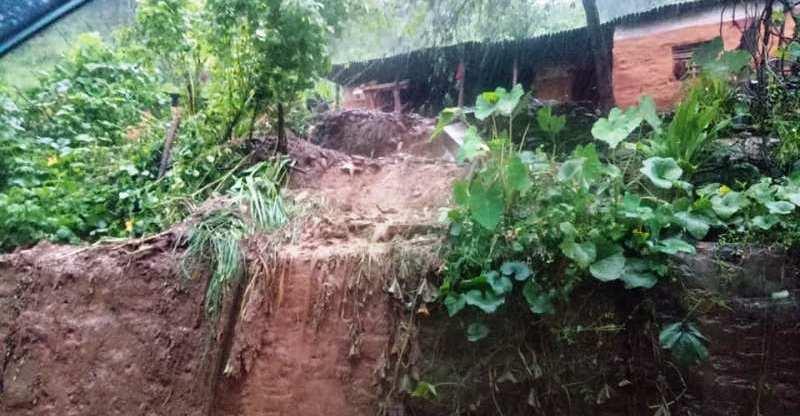 कास्कीको रुपा गाउँपालिकामा पहिरो जना एक युवतीको मृत्यु