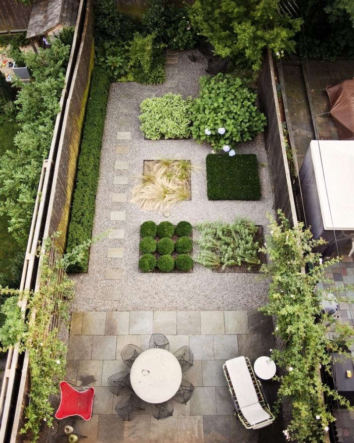 Landscaping: 10 Classic Layouts for Townhouse Gardens ... on Townhouse Patio Ideas  id=99139