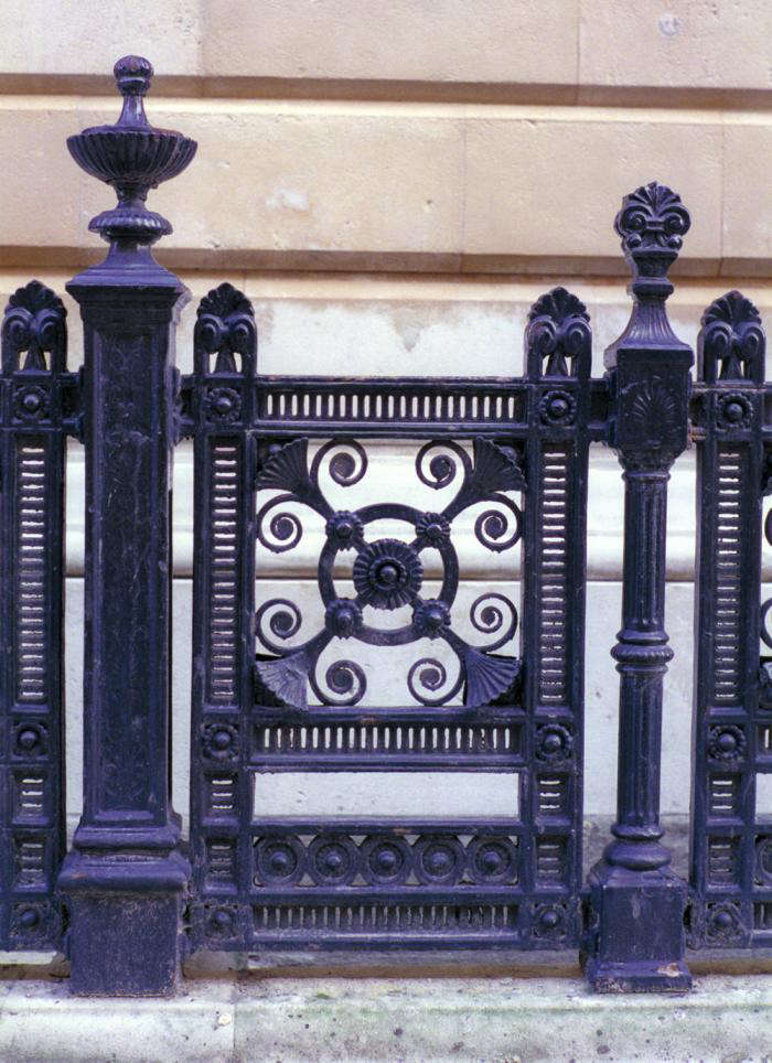 Paint Colors for Iron Gates and Fences - Gardenista on Gate Color Ideas  id=65003