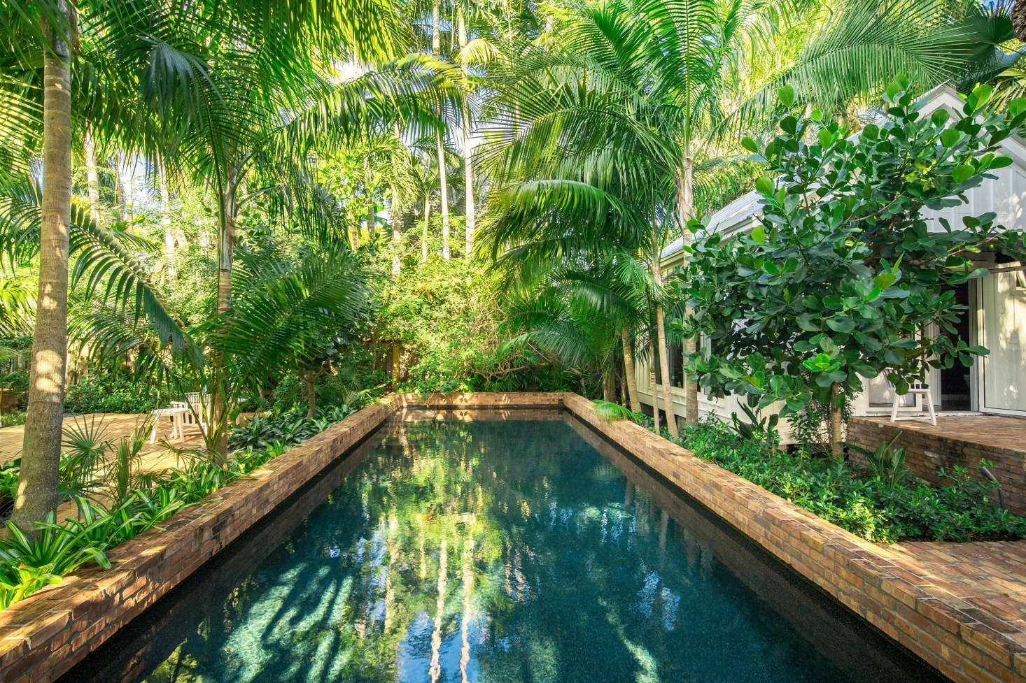 Key West Landscape Architecture: How to Design a Tropical ... on Tropical Backyard Landscaping  id=16932