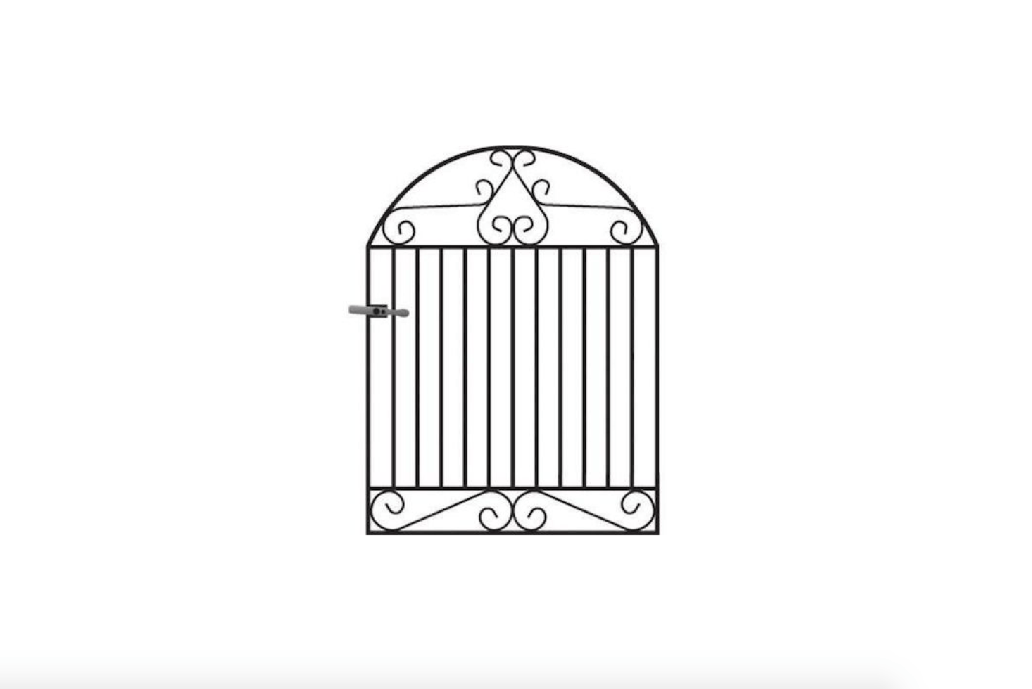 10 Easy Pieces Wrought Iron Front Gates