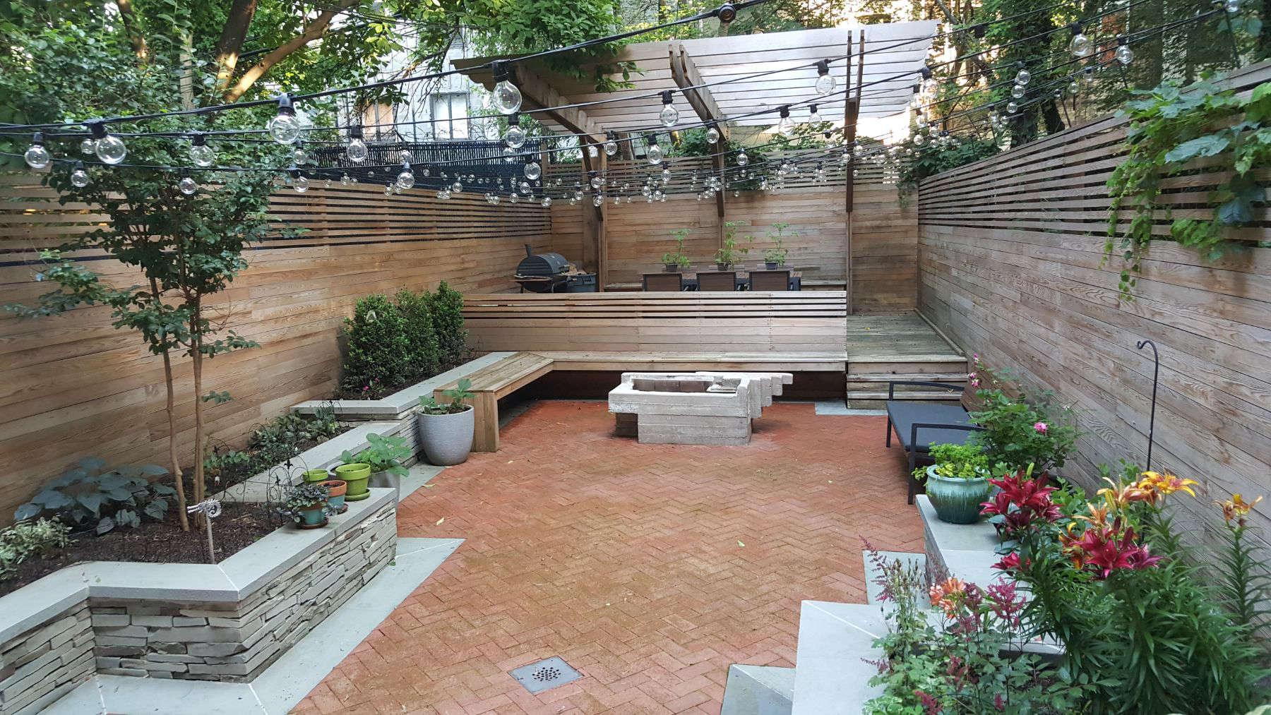 418 Quincy Street Backyard - Hardscape - Gardenista on Hardscape Patio id=90302