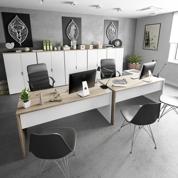 Ecoufficio, il megastore di mobili per ufficio con i prezzi piu' bassi del sud italia. Arredo Ufficio Completo Work 2