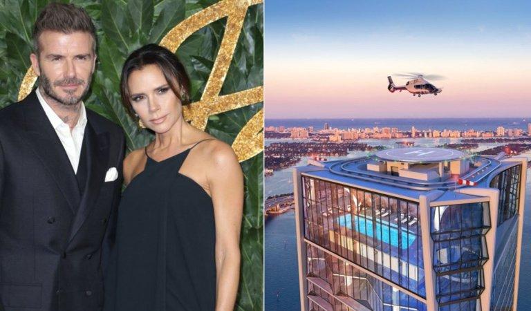 Państwo Beckham kupili najdroższe mieszkanie na świecie.