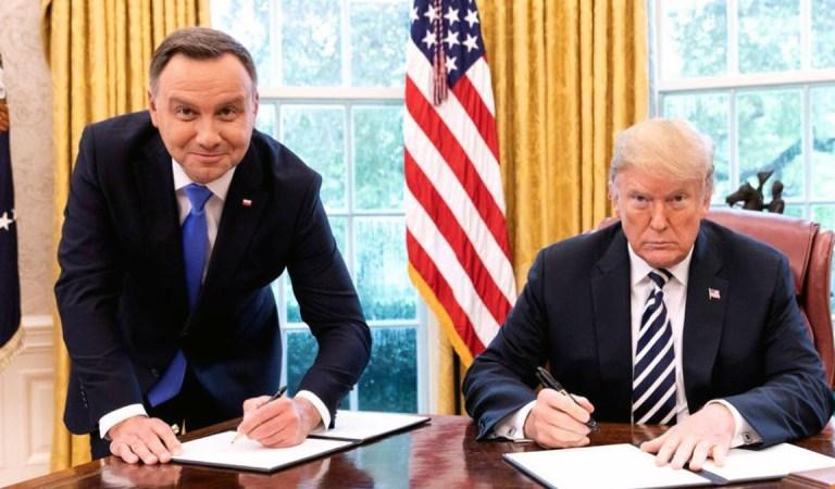 """Nie będzie """"Fortu Trumpa""""! Amerykanie chcę więcej kasy. Kolejne upokorzenie i fiasko polityki zagranicznej Andrzeja Dudy."""