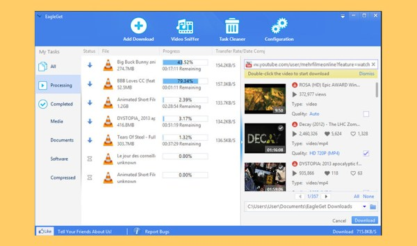 7 Free Fastest Internet Download Managers IDM [ No Adware ]