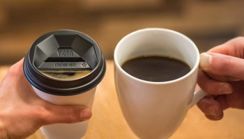 Microsoft vet raises more cash to sell coffee cup lids that 'drink like a ceramic cup'