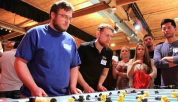 GeekWire Bash: Foosball fanatics prepare for intense competition, brackets released for next week's tourney