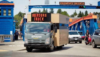 Amazon's 'Treasure Truck' finally arrives, selling discounted GoPro cameras after 7-month delay