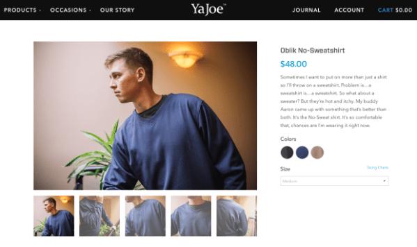Meet Ya Joe: A new apparel company targeting 'tech guys ...