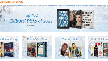 Amazon releases 'Best Books' of 2015