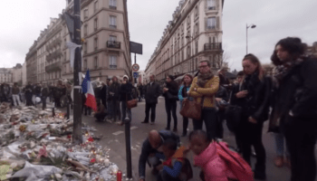 New York Times' latest VR video focuses on Paris vigils after the attacks