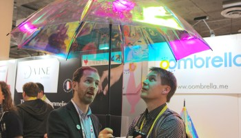 GeekWire's Worst and Weirdest of CES 2016: Connected umbrellas, digital smartshoes and more