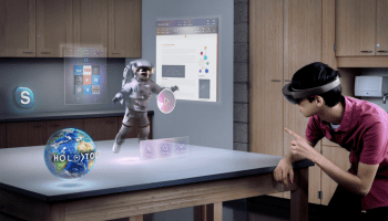 How you'll use Microsoft's HoloLens: New videos show clicking, gazing and spatial sound