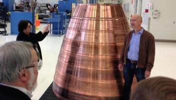 Jeff Bezos at Blue Origin