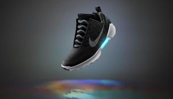 High-tech kicks: Nike unveils self-lacing shoes, will go on sale later this year
