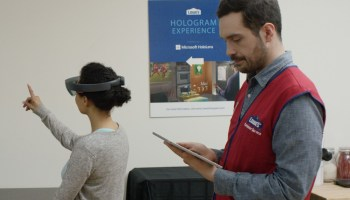 Microsoft bringing HoloLens headset to Lowe's to visualize kitchen renovations