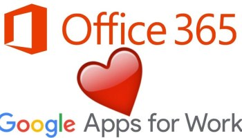 Microsoft Office 365, Google Apps in use together for many enterprises