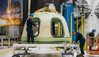 New Shepard crew capsule
