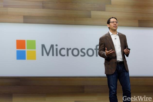 Chris Capossela, Microsoft chief marketing officer.