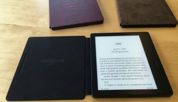 Hands-on: $290 Kindle Oasis starts a new chapter for Amazon e-readers